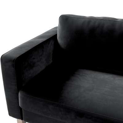 Potah na pohovku IKEA  Karlstad 3-místná, nerozkládací, krátký v kolekci Velvet, látka: 704-17