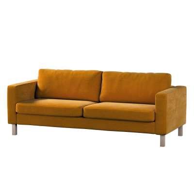 Potah na pohovku IKEA  Karlstad 3-místná, nerozkládací, krátký v kolekci Velvet, látka: 704-23