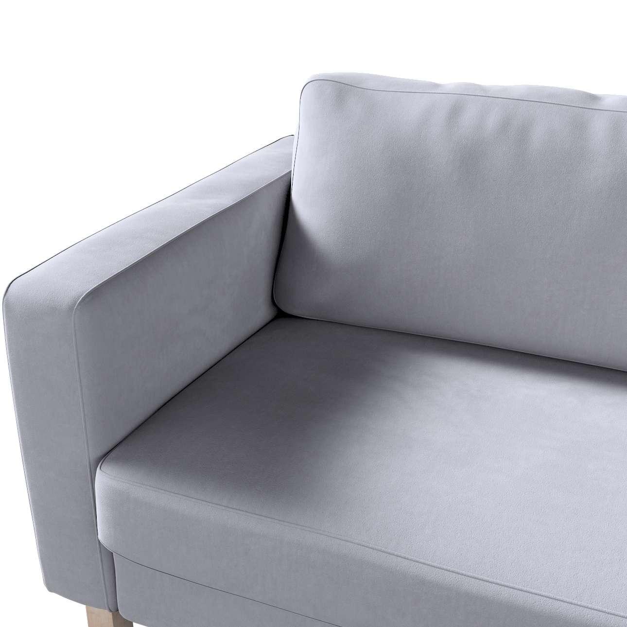 Potah na pohovku IKEA  Karlstad 3-místná, nerozkládací, krátký v kolekci Velvet, látka: 704-24