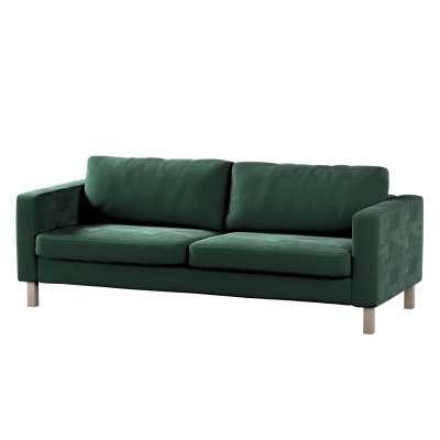 Hoes voor Karlstad 3-zitsbank van IKEA van de collectie Velvet, Stof: 704-25
