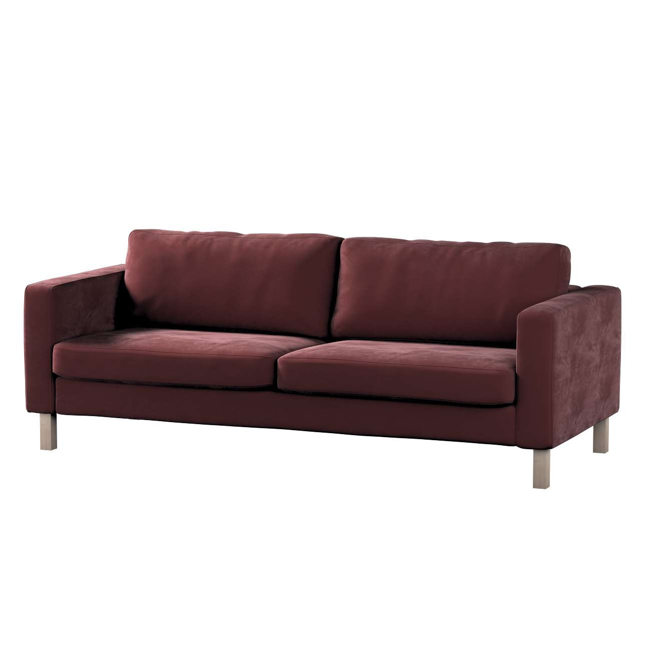 Karlstad klädsel<br>3-pers. soffa - kort - 204cm i kollektionen Velvet, Tyg: 704-26