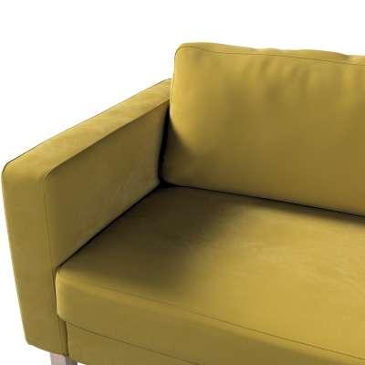 Potah na pohovku IKEA  Karlstad 3-místná, nerozkládací, krátký v kolekci Velvet, látka: 704-27