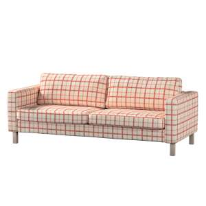 Karlstad 3-Sitzer Sofabezug nicht ausklappbar kurz Karlstad von der Kollektion Avinon, Stoff: 131-15