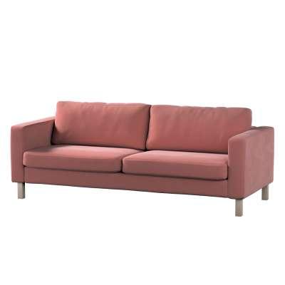 Pokrowiec na sofę Karlstad 3-osobową nierozkładaną, krótki 704-30 Kolekcja Velvet