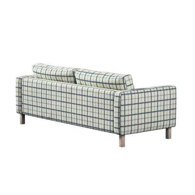 Pokrowiec na sofę Karlstad 3-osobową nierozkładaną, krótki w kolekcji Avinon, tkanina: 131-66