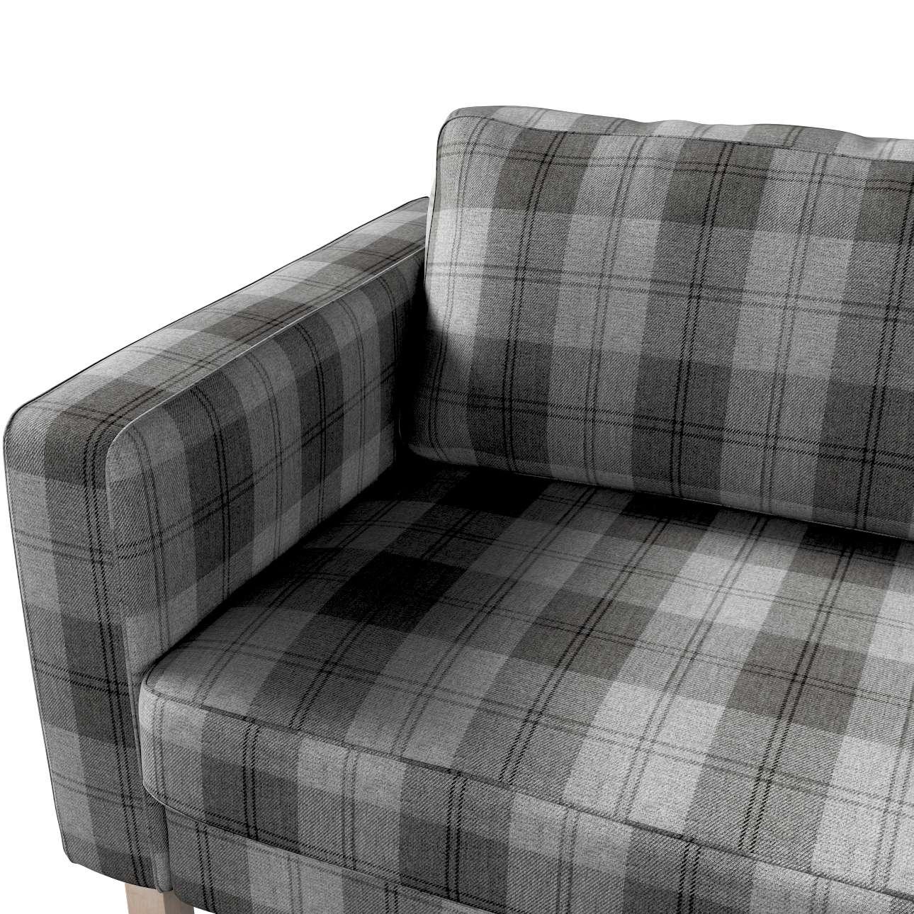 Potah na pohovku IKEA  Karlstad 3-místná, nerozkládací, krátký v kolekci Edinburgh, látka: 115-75