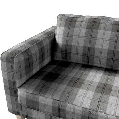 Pokrowiec na sofę Karlstad 3-osobową nierozkładaną, krótki w kolekcji Edinburgh, tkanina: 115-75