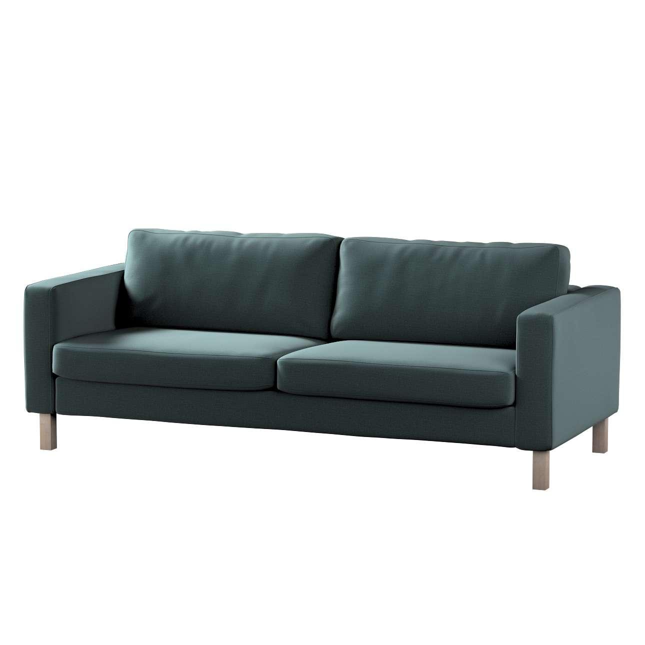 Karlstad 3-Sitzer Sofabezug nicht ausklappbar kurz von der Kollektion Ingrid, Stoff: 705-36