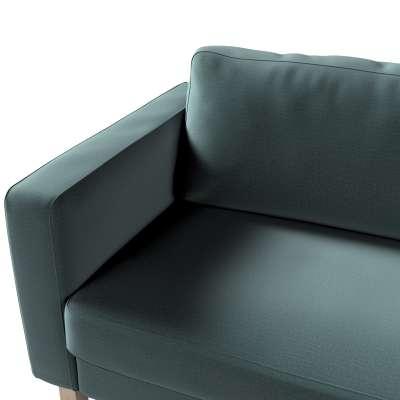 Pokrowiec na sofę Karlstad 3-osobową nierozkładaną, krótki w kolekcji Ingrid, tkanina: 705-36