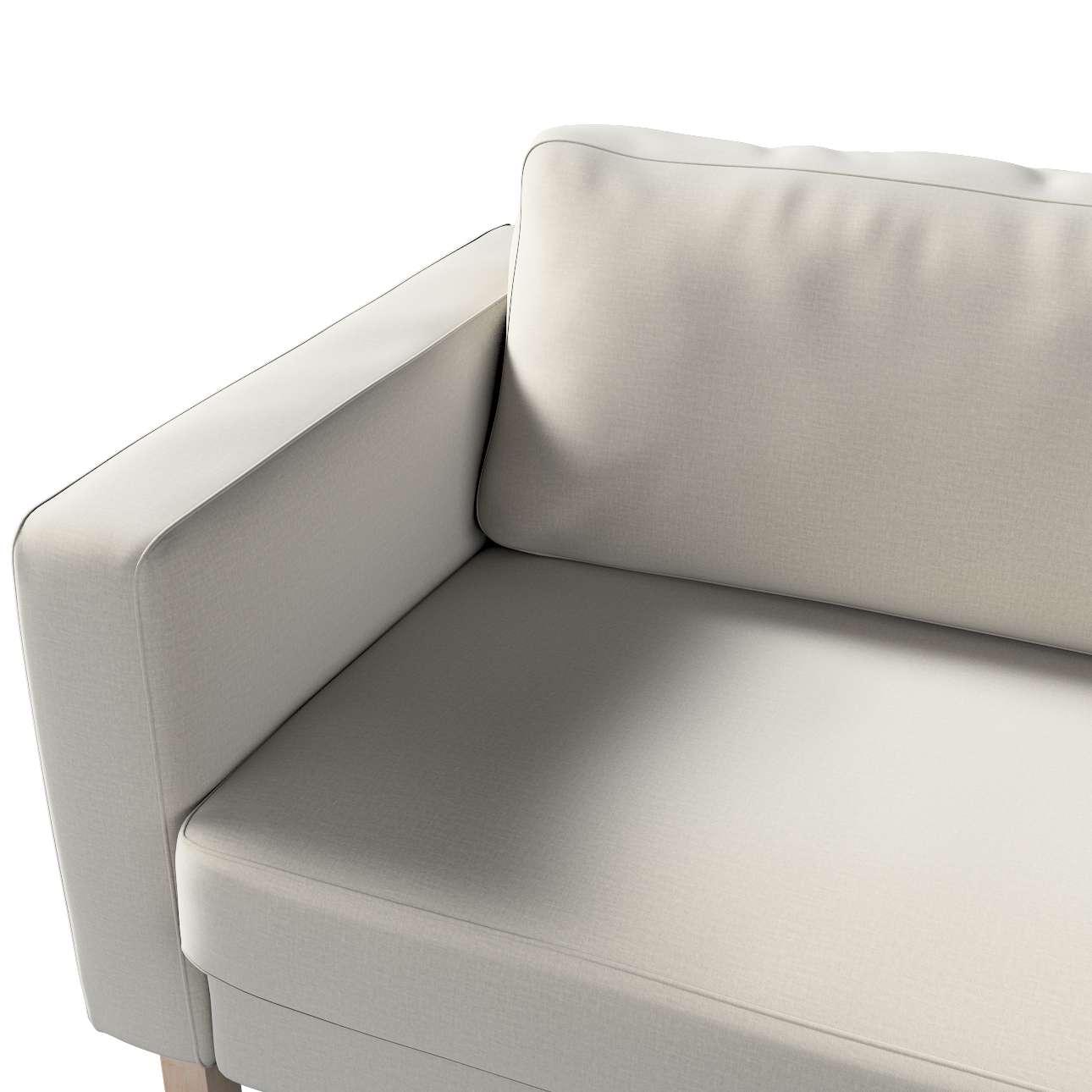 Pokrowiec na sofę Karlstad 3-osobową nierozkładaną, krótki w kolekcji Ingrid, tkanina: 705-40