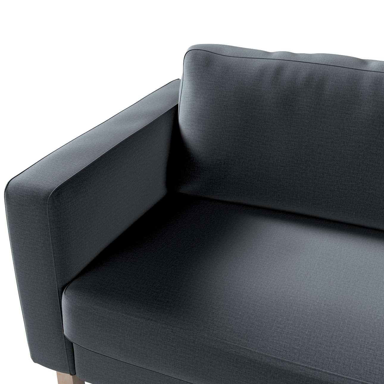 Pokrowiec na sofę Karlstad 3-osobową nierozkładaną, krótki w kolekcji Ingrid, tkanina: 705-43