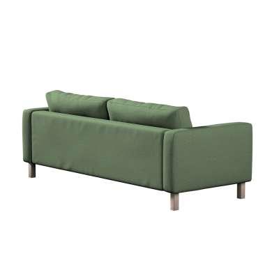 Potah na pohovku IKEA  Karlstad 3-místná, nerozkládací, krátký v kolekci Amsterdam, látka: 704-44