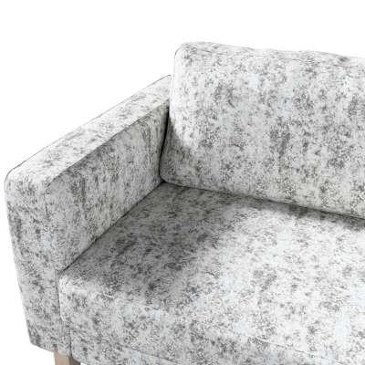 Pokrowiec na sofę Karlstad 3-osobową nierozkładaną, krótki w kolekcji Velvet, tkanina: 704-49