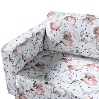 Pokrowiec na sofę Karlstad 3-osobową nierozkładaną, krótki w kolekcji Velvet, tkanina: 704-50