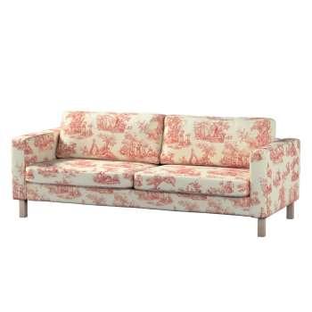 Karlstad 3-Sitzer Sofabezug nicht ausklappbar kurz Karlstad von der Kollektion Avinon, Stoff: 132-15