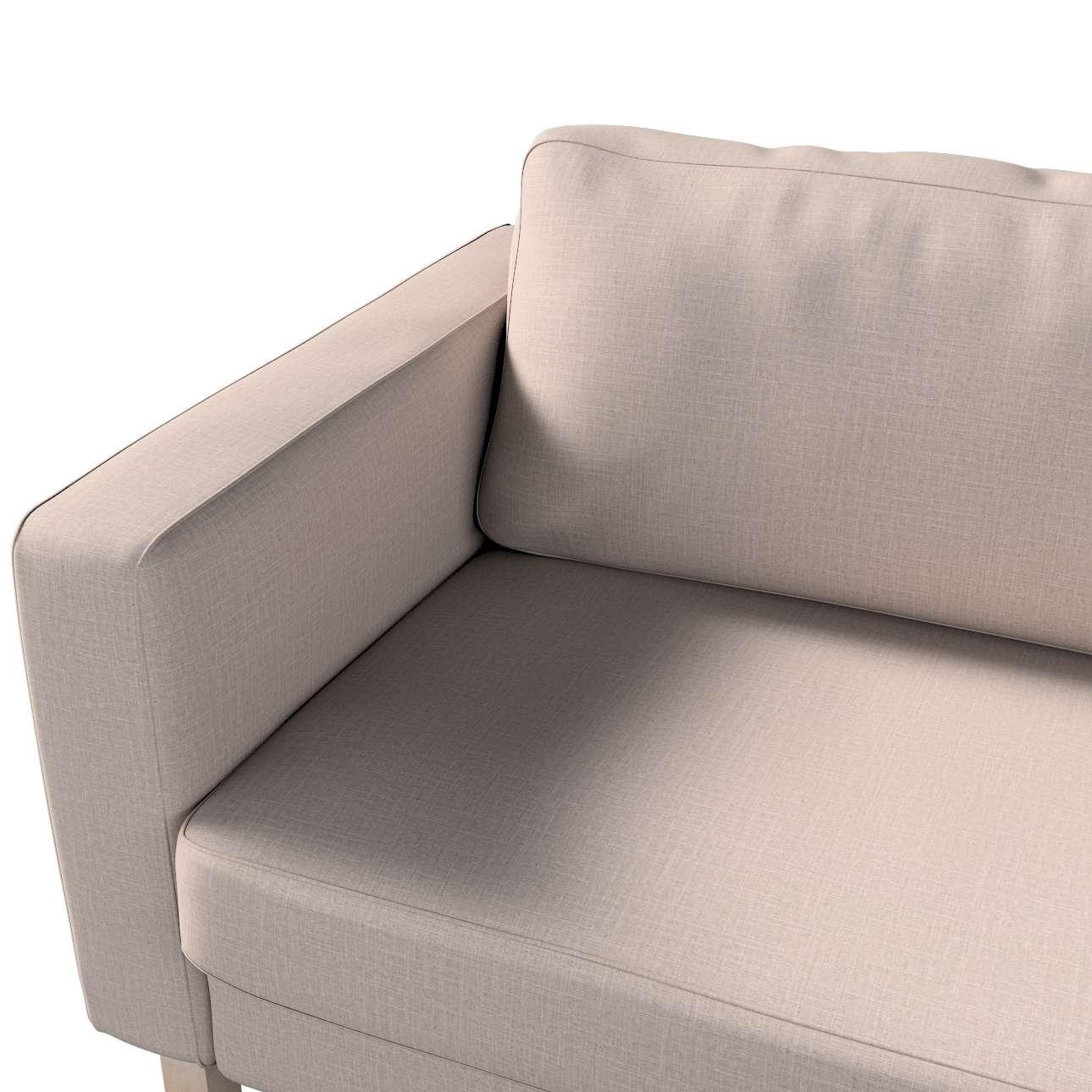 Pokrowiec na sofę Karlstad 3-osobową nierozkładaną, krótki w kolekcji Living II, tkanina: 160-85