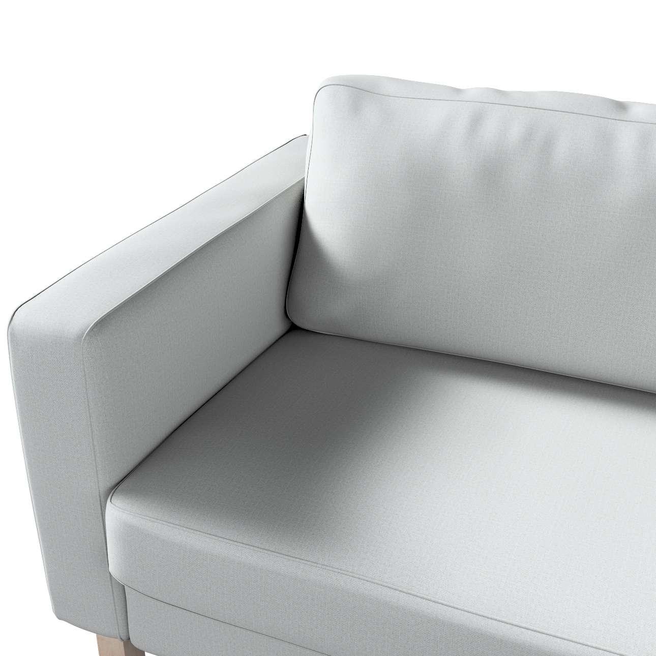 Potah na pohovku IKEA  Karlstad 3-místná, nerozkládací, krátký v kolekci Living II, látka: 161-18