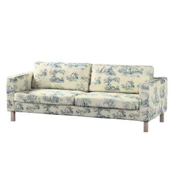 Karlstad 3-Sitzer Sofabezug nicht ausklappbar kurz von der Kollektion Avinon, Stoff: 132-66