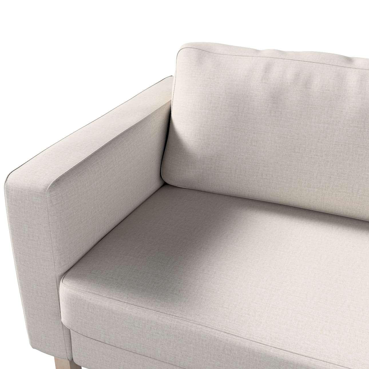 Potah na pohovku IKEA  Karlstad 3-místná, nerozkládací, krátký v kolekci Living II, látka: 161-00