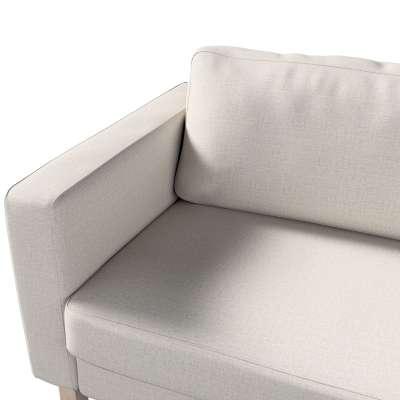 Pokrowiec na sofę Karlstad 3-osobową nierozkładaną, krótki w kolekcji Living II, tkanina: 161-00