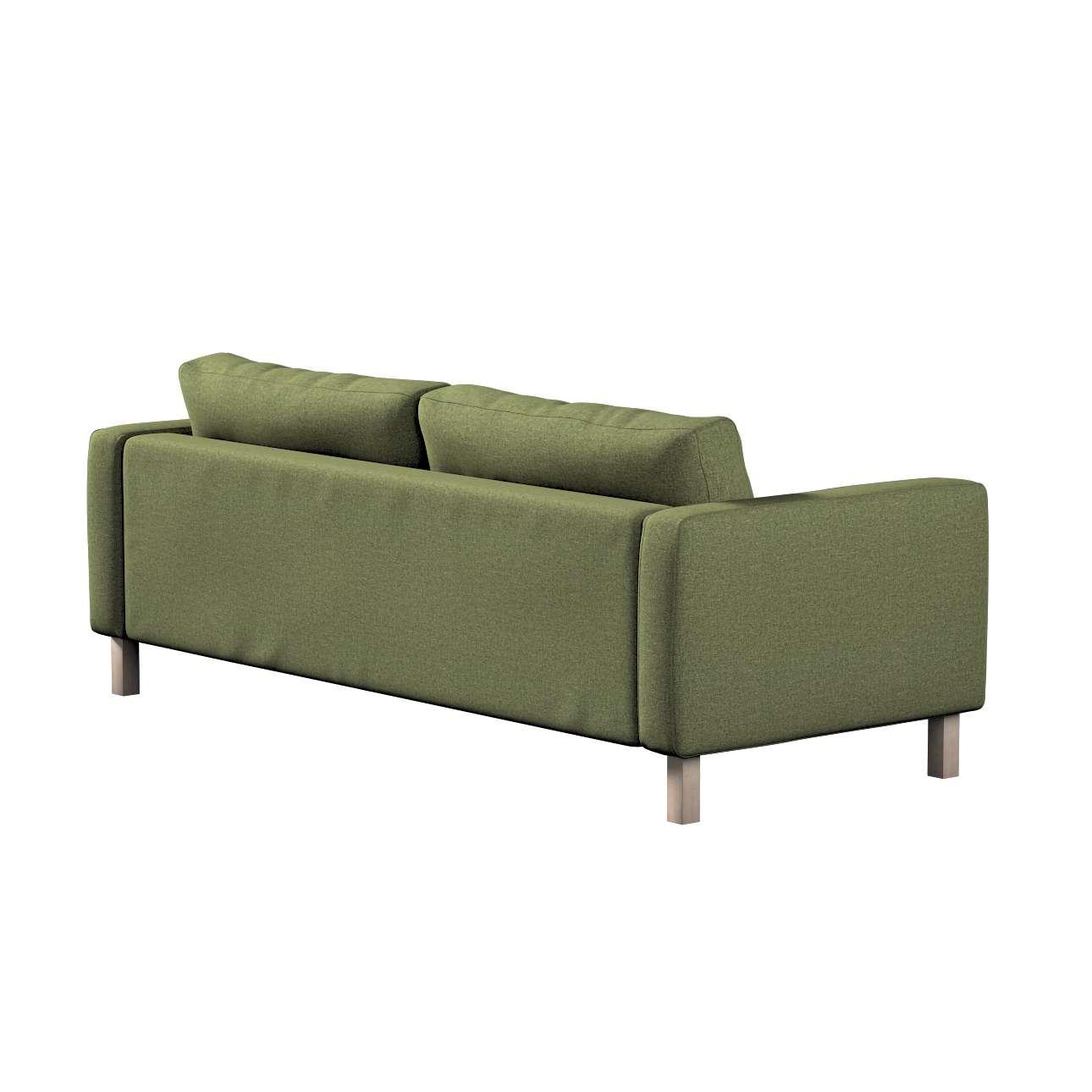 Potah na pohovku IKEA  Karlstad 3-místná, nerozkládací, krátký v kolekci Madrid, látka: 161-22