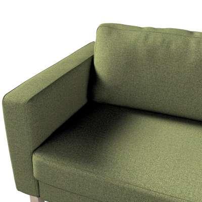 Pokrowiec na sofę Karlstad 3-osobową nierozkładaną, krótki w kolekcji Madrid, tkanina: 161-22