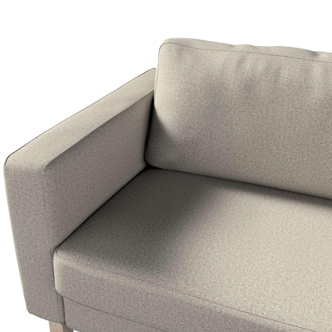 Pokrowiec na sofę Karlstad 3-osobową nierozkładaną, krótki w kolekcji Madrid, tkanina: 161-23