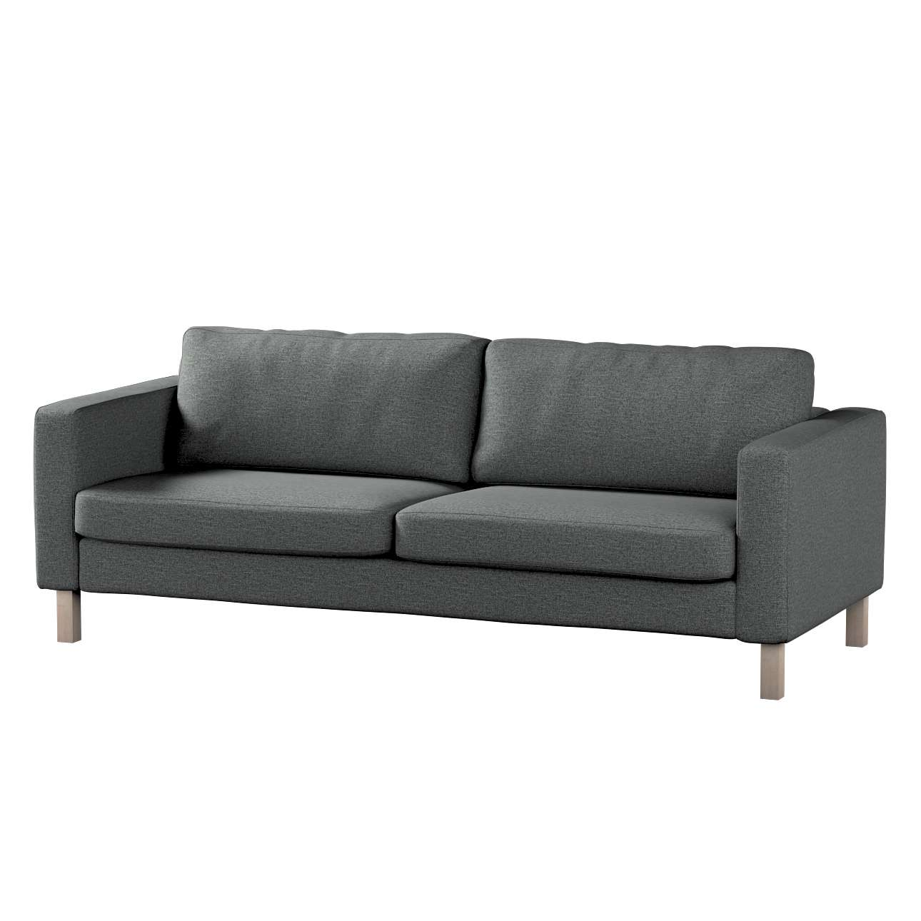Potah na pohovku IKEA  Karlstad 3-místná, nerozkládací, krátký v kolekci Madrid, látka: 161-24