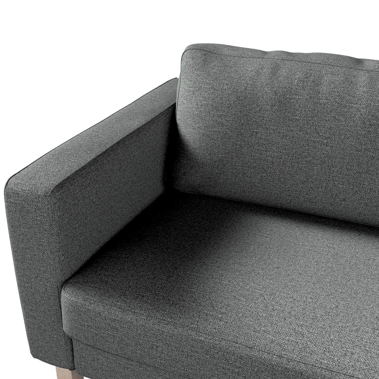 Pokrowiec na sofę Karlstad 3-osobową nierozkładaną, krótki w kolekcji Madrid, tkanina: 161-24