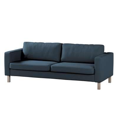 Pokrowiec na sofę Karlstad 3-osobową nierozkładaną, krótki w kolekcji Etna, tkanina: 705-30