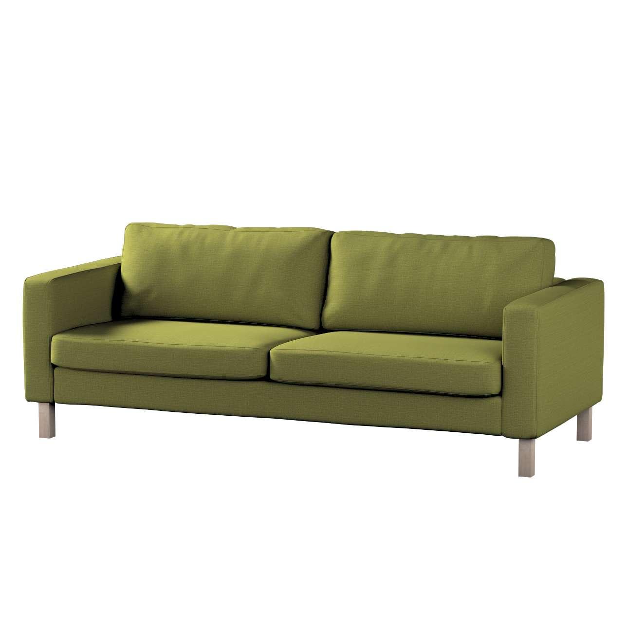 Potah na pohovku IKEA  Karlstad 3-místná, nerozkládací, krátký v kolekci Living II, látka: 161-13