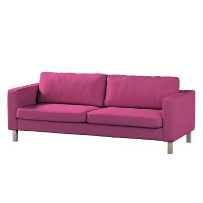 Pokrowiec na sofę Karlstad 3-osobową nierozkładaną, krótki w kolekcji Living, tkanina: 161-29