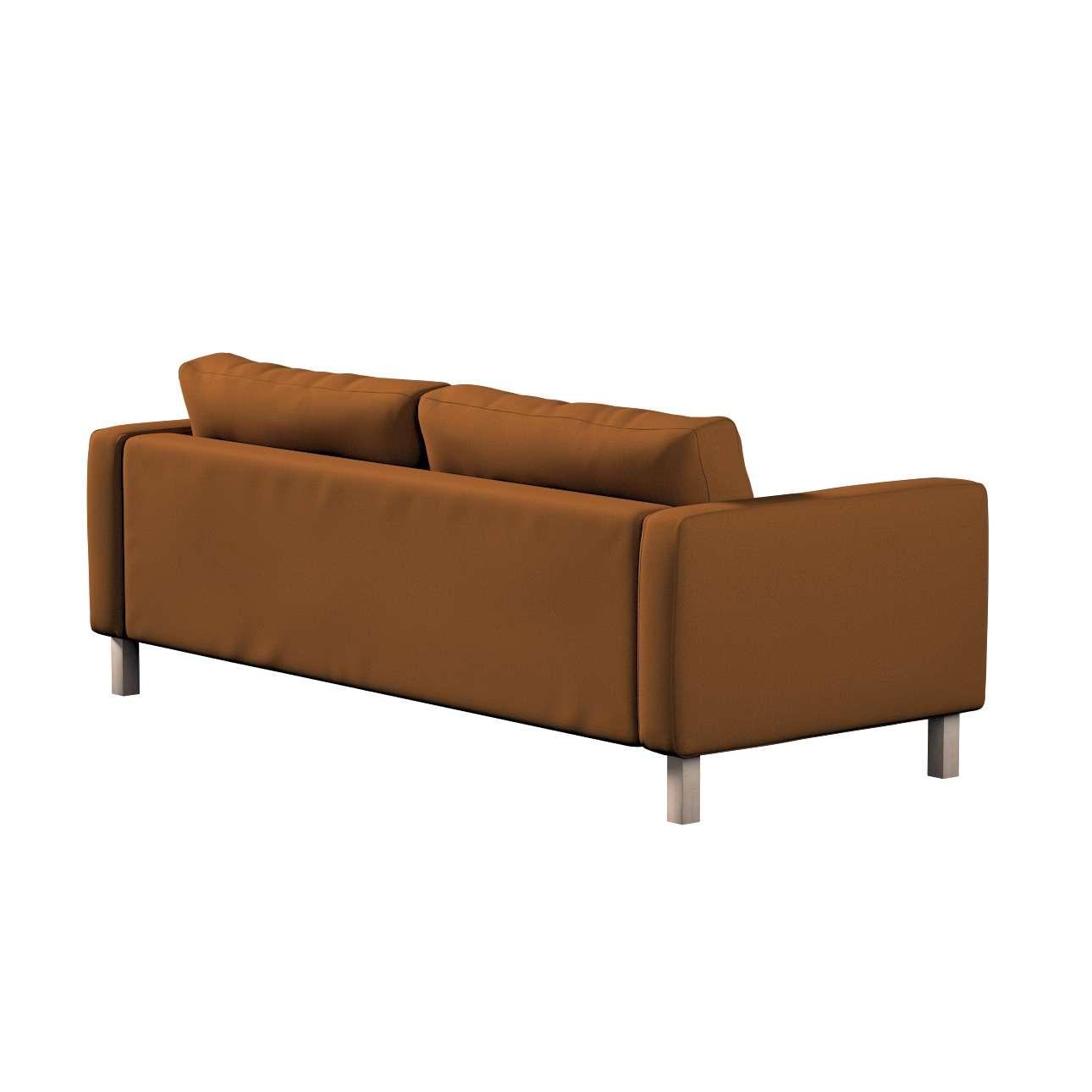 Potah na pohovku IKEA  Karlstad 3-místná, nerozkládací, krátký v kolekci Living II, látka: 161-28