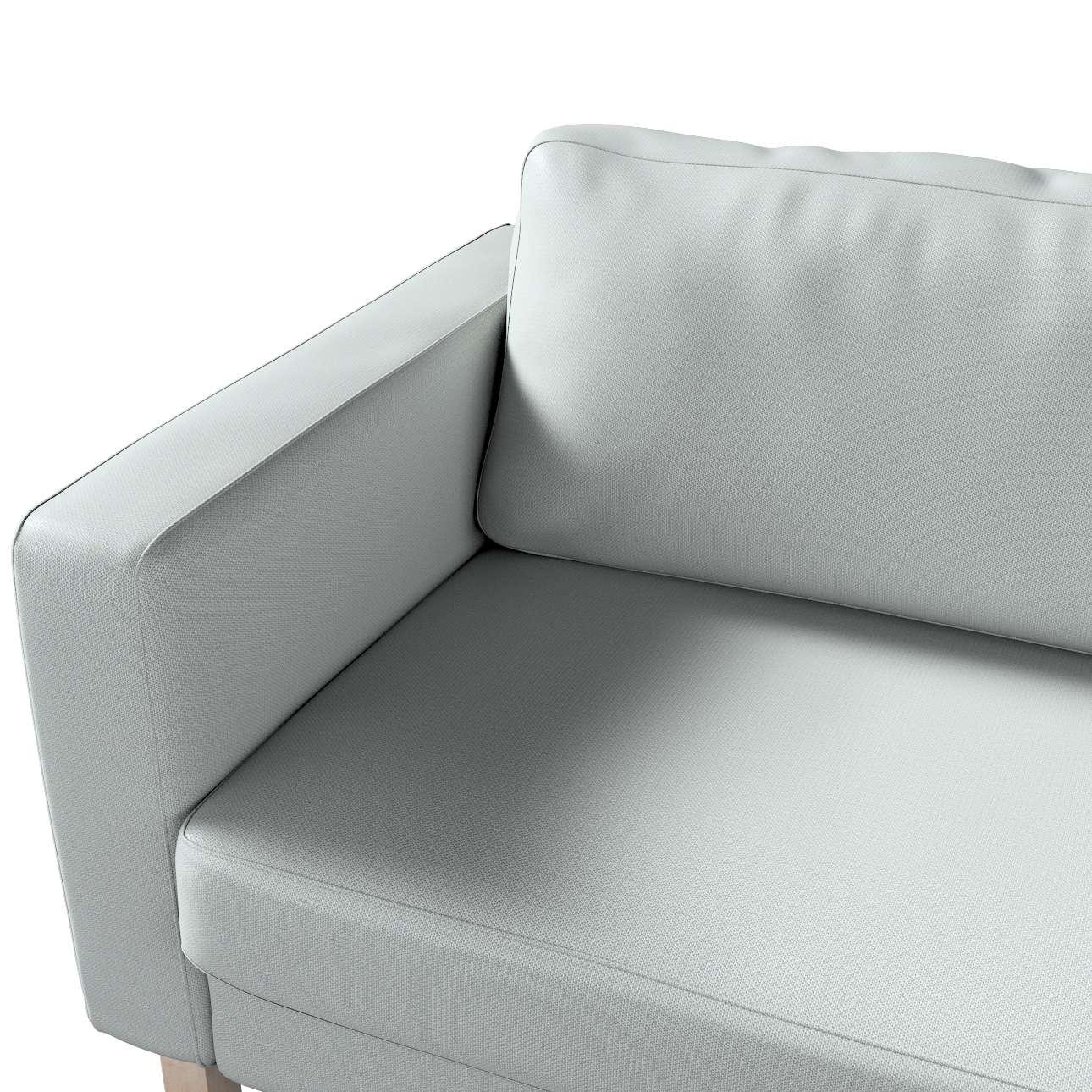 Pokrowiec na sofę Karlstad 3-osobową nierozkładaną, krótki w kolekcji Bergen, tkanina: 161-72