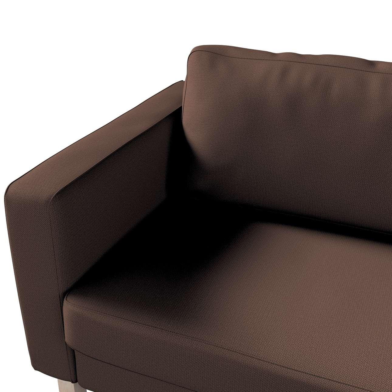 Pokrowiec na sofę Karlstad 3-osobową nierozkładaną, krótki w kolekcji Bergen, tkanina: 161-73