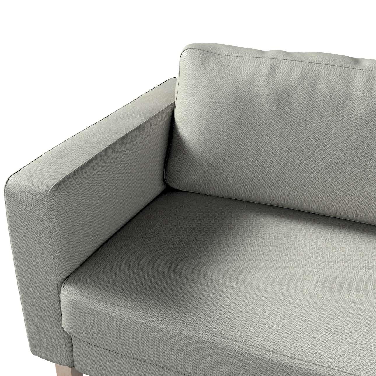 Potah na pohovku IKEA  Karlstad 3-místná, nerozkládací, krátký v kolekci Bergen, látka: 161-83