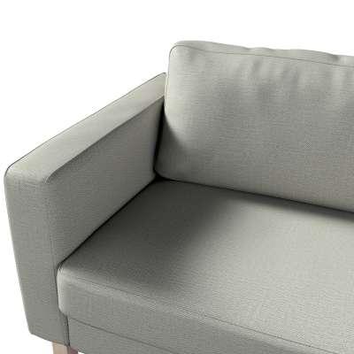 Pokrowiec na sofę Karlstad 3-osobową nierozkładaną, krótki w kolekcji Bergen, tkanina: 161-83