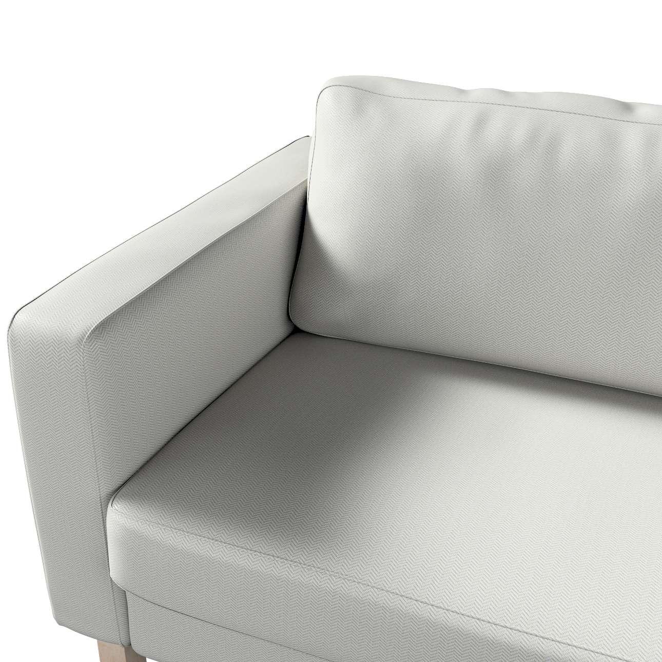 Pokrowiec na sofę Karlstad 3-osobową nierozkładaną, krótki w kolekcji Bergen, tkanina: 161-84