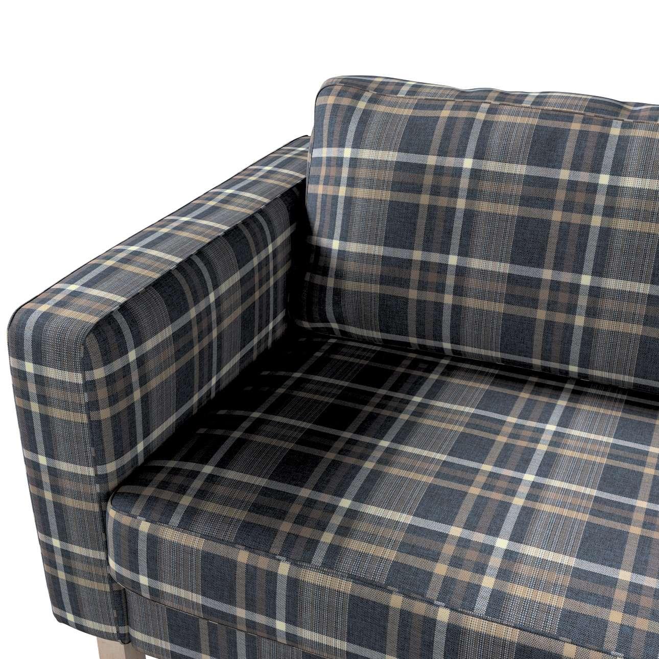 Pokrowiec na sofę Karlstad 3-osobową nierozkładaną, krótki w kolekcji Edinburgh, tkanina: 703-16