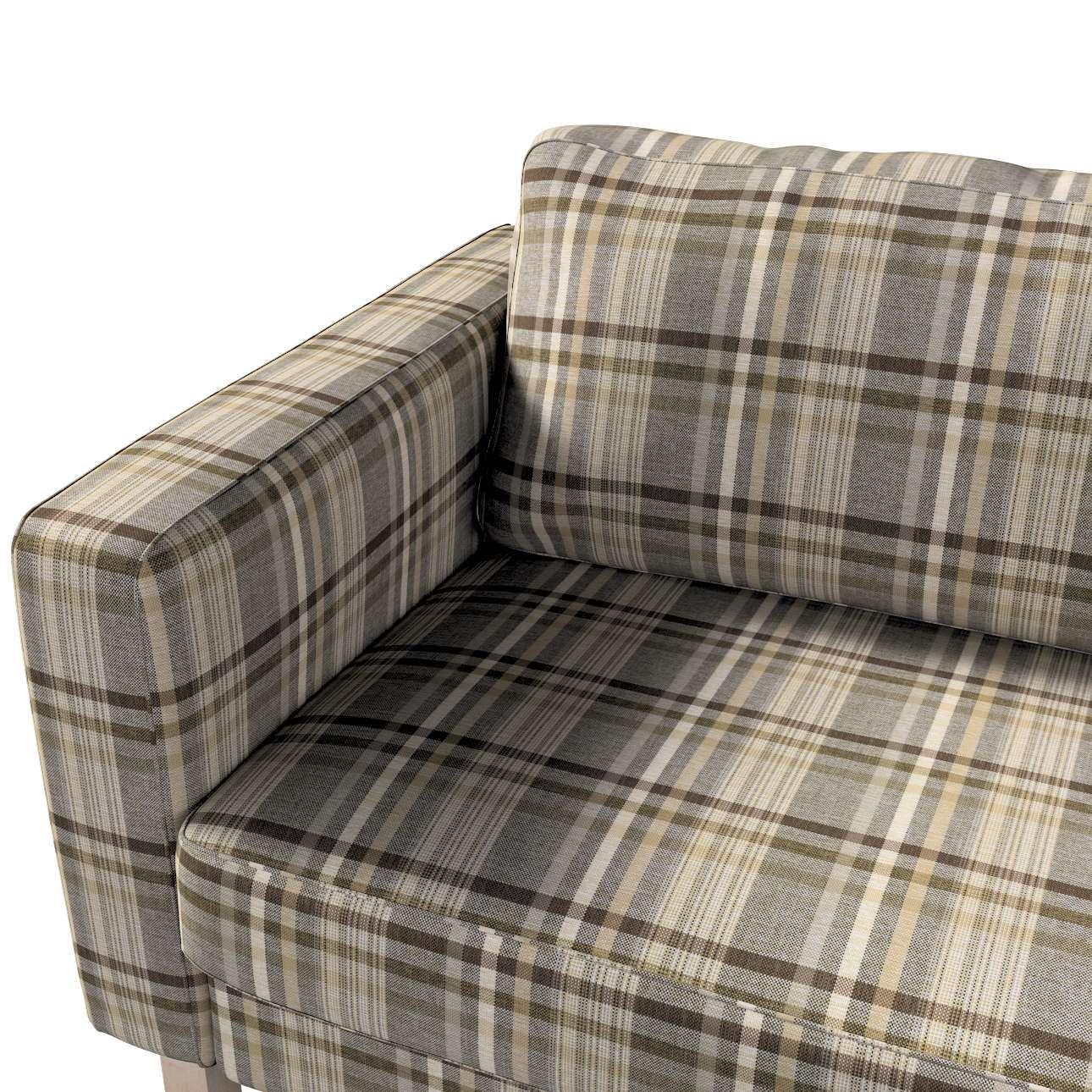 Potah na pohovku IKEA  Karlstad 3-místná, nerozkládací, krátký v kolekci Edinburgh, látka: 703-17