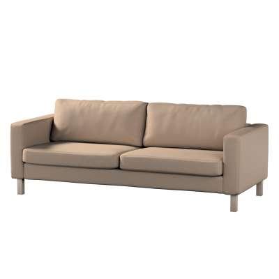 Pokrowiec na sofę Karlstad 3-osobową nierozkładaną, krótki w kolekcji Bergen, tkanina: 161-75