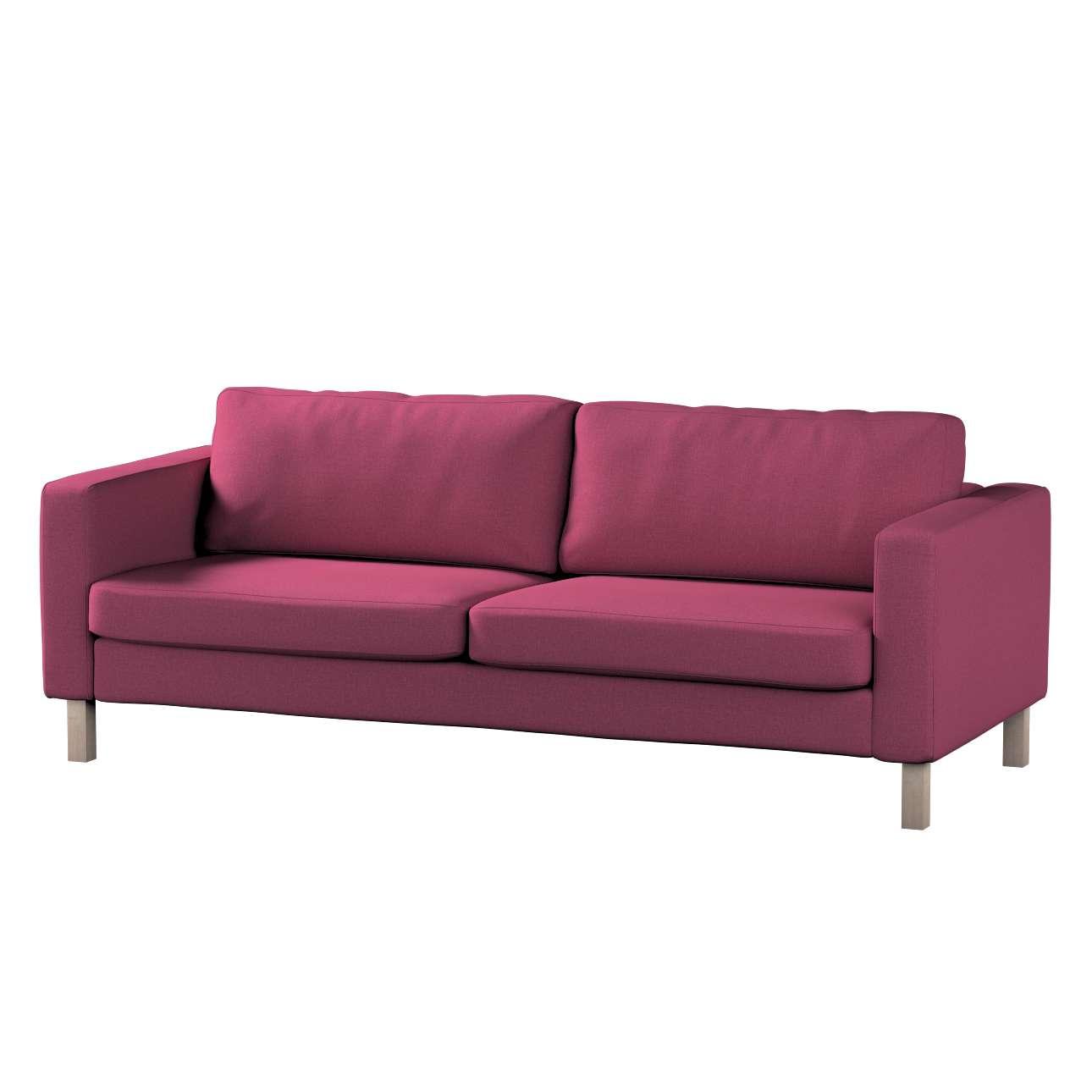 Potah na pohovku IKEA  Karlstad 3-místná, nerozkládací, krátký v kolekci Living, látka: 160-44