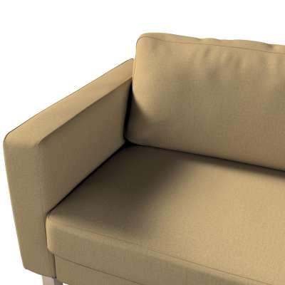 Pokrowiec na sofę Karlstad 3-osobową nierozkładaną, krótki w kolekcji Living, tkanina: 161-50