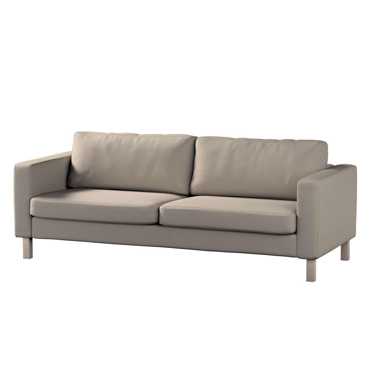 Potah na pohovku IKEA  Karlstad 3-místná, nerozkládací, krátký v kolekci Living, látka: 161-53