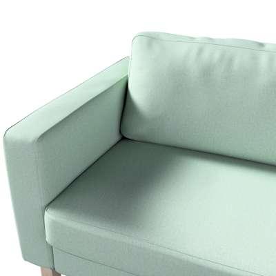 Pokrowiec na sofę Karlstad 3-osobową nierozkładaną, krótki w kolekcji Living, tkanina: 161-61