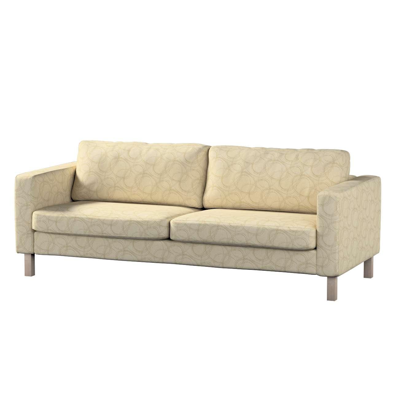 Karlstad klädsel<br>3-pers. soffa - kort - 204cm i kollektionen Living, Tyg: 161-81