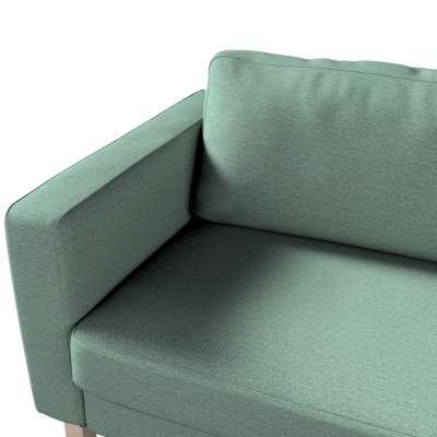 Potah na pohovku IKEA  Karlstad 3-místná, nerozkládací, krátký v kolekci Madrid, látka: 161-89