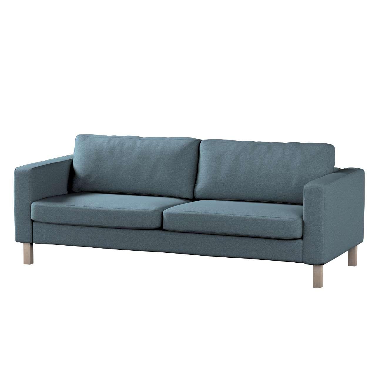 Potah na pohovku IKEA  Karlstad 3-místná, nerozkládací, krátký v kolekci Madrid, látka: 161-90