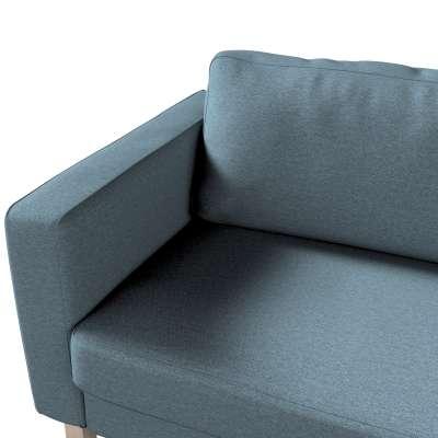Pokrowiec na sofę Karlstad 3-osobową nierozkładaną, krótki w kolekcji Madrid, tkanina: 161-90