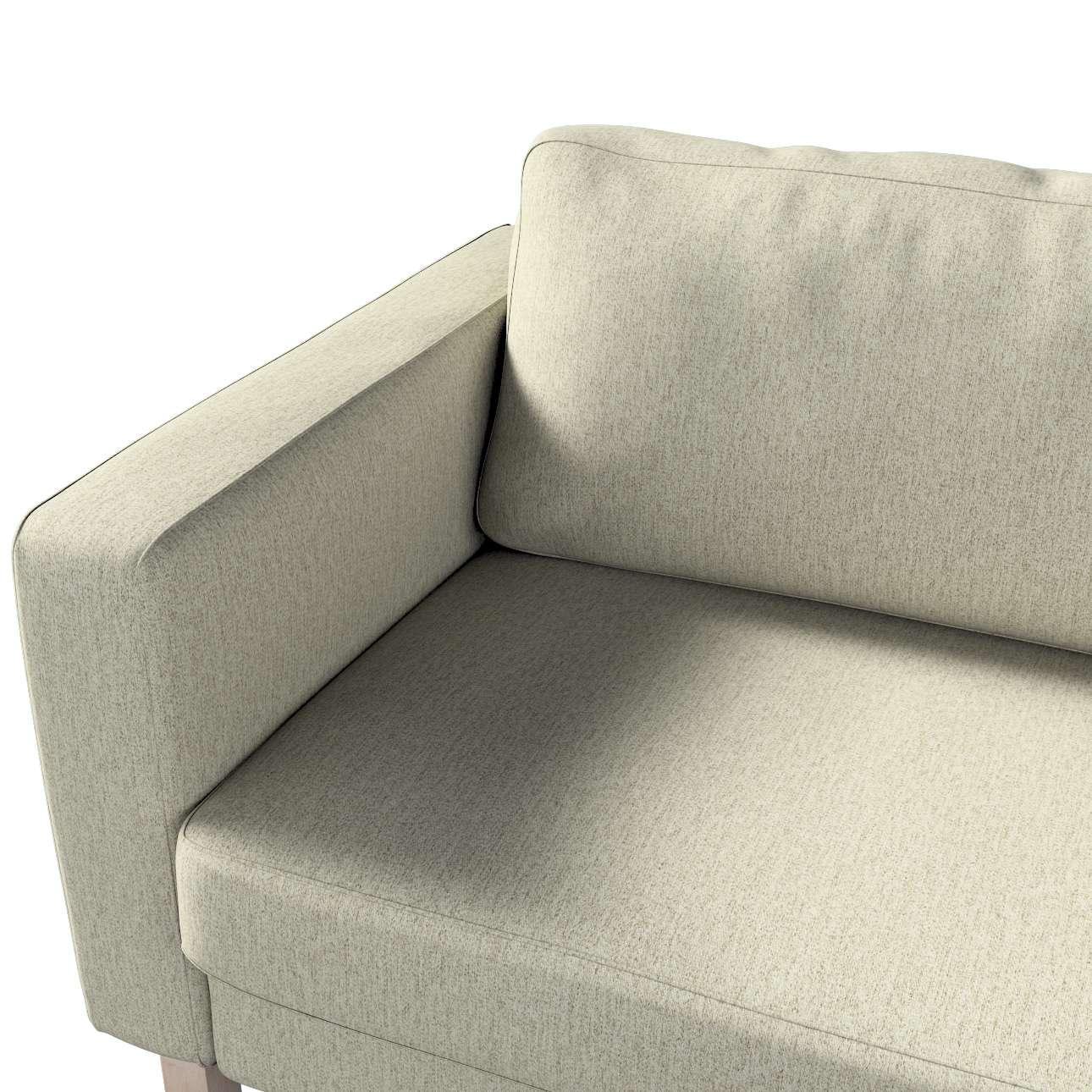 Potah na pohovku IKEA  Karlstad 3-místná, nerozkládací, krátký v kolekci Living, látka: 161-62
